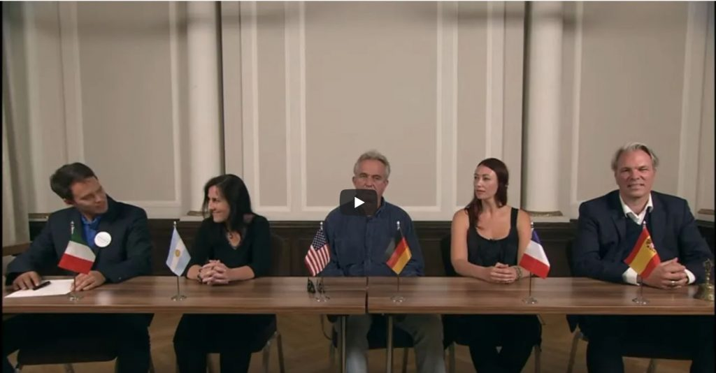 Robert F. Kennedy, Jr. Holds a Press Conference in Berlin After Launching CHD's Europe Chapter