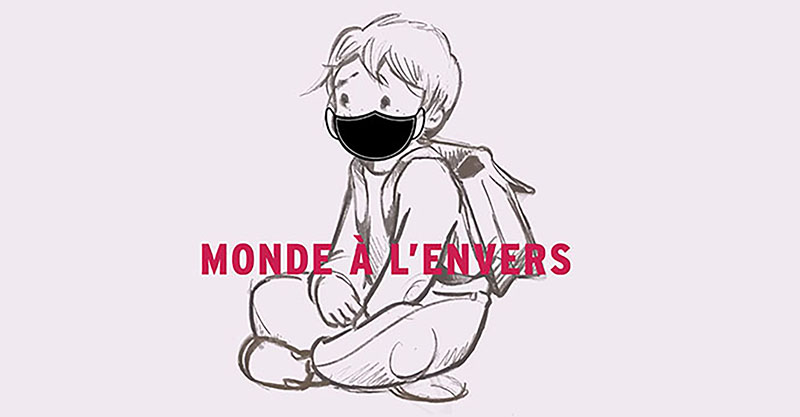 A heart breaking short movie which gives voice to children (in French)