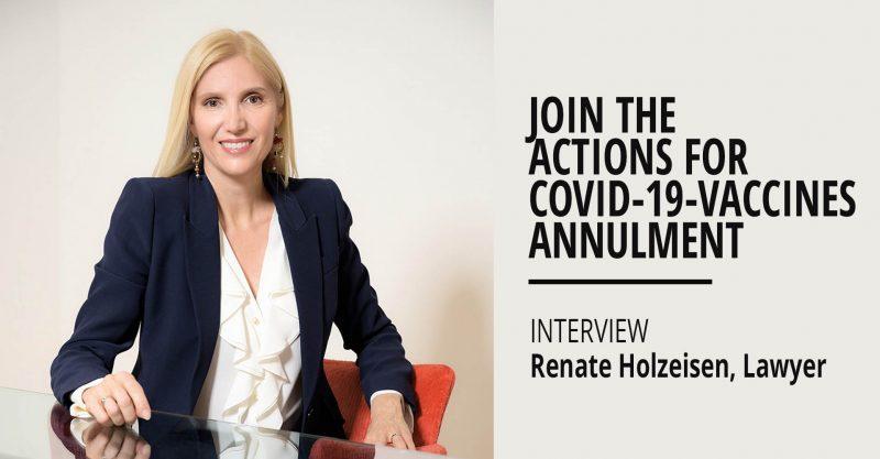 "Renate Holzeisen: ""Covid Vaccines Violate European Legislation"""