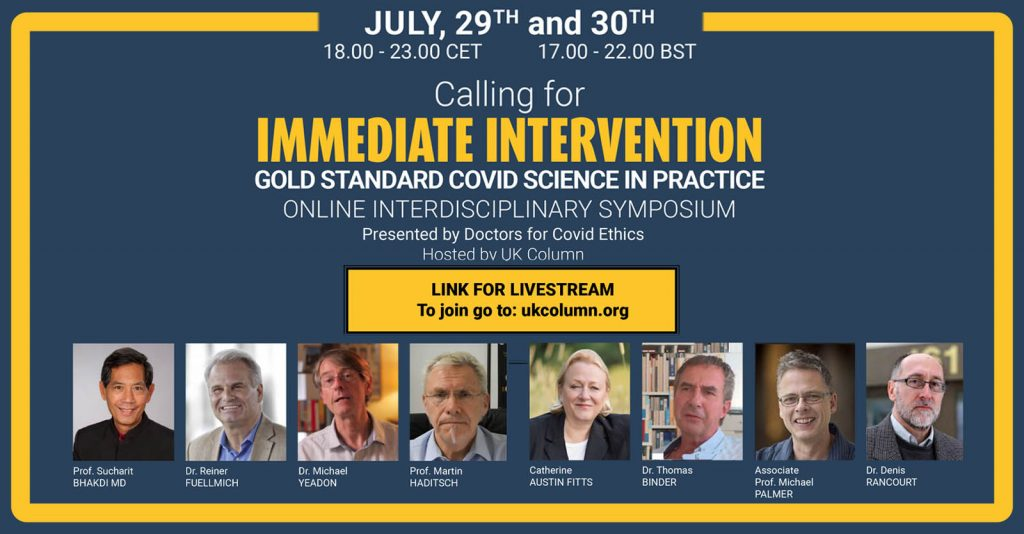 D4CE Emergency Symposium with Highly Acclaimed International Scientists, Lawyers and Economists Calling for Immediate Interventions in the Current Crisis