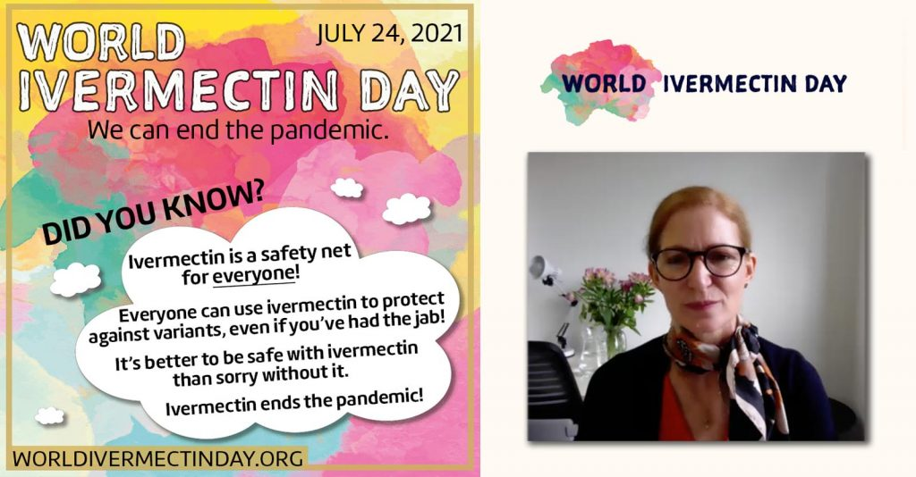 """Dr. Tess Lawrie: """"Ivermectin Is The Key To End The Pandemic"""""""