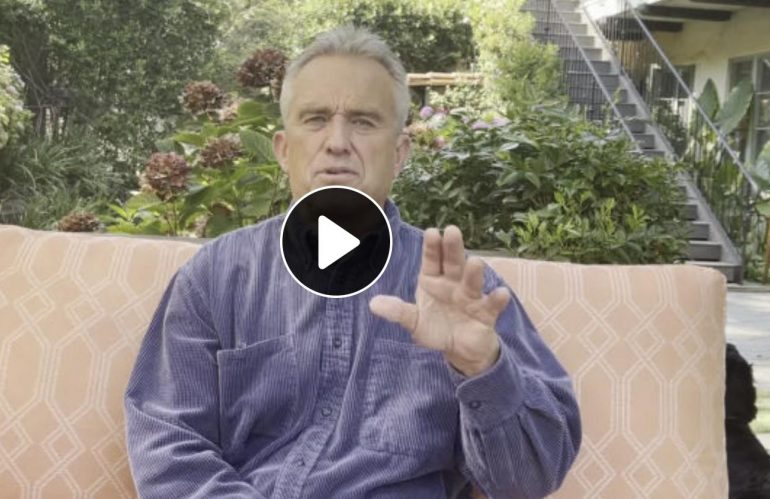 """A Message From Robert F. Kennedy, Jr. One Year After the Historic Rally in Berlin: """"It's Time For (peaceful) Civil Disobedience!"""""""
