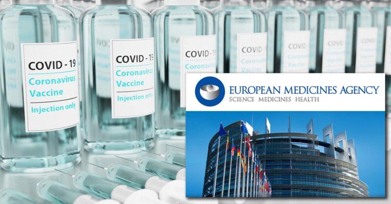 Avvisi di responsabilità per danno da vaccino e morte inviati all'EMA e a tutti i membri del Parlamento