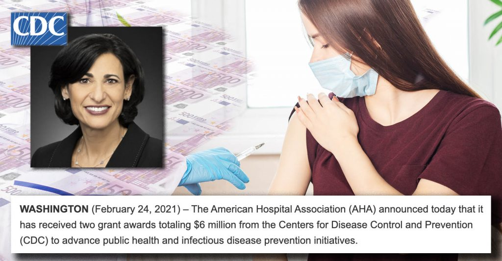CDC Bribes Medical Organizations To Back Vaccinations For Kids Despite Heart Inflammation and Lies About The Statistics