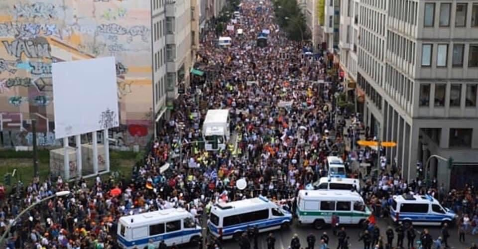 August 2020: Flashback on the Berlin Freedom Rally, One Million Strong!