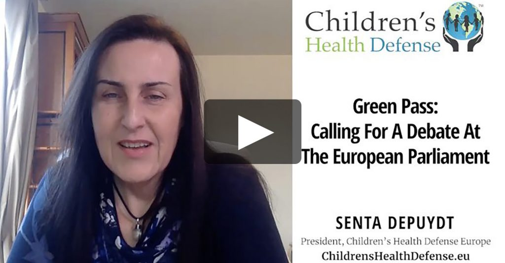 Green Pass: Reject Emergency Vote At The European Parliament and Call For A Debate