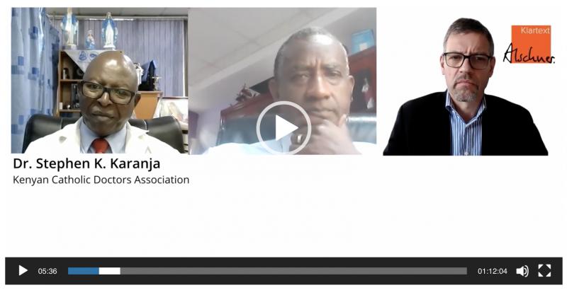 """Interview Dr. Stephen Karanja und Dr. Wahome Ngare: """"Wir sind keine Impf-Gegner, sondern gegner der Dummheit!"""" (Kenya)"""