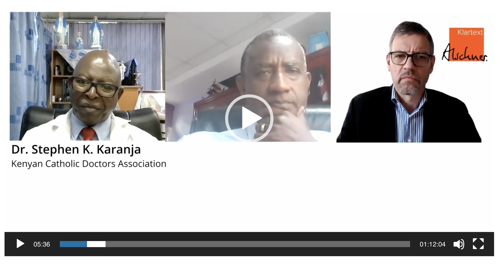 "Interview Dr. Stephen Karanja and Dr. Wahome Ngare: ""Is This Vaccine A Commercial Enterprise?"" (Kenya)"