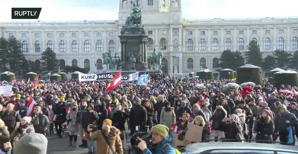 A Week End Of Rebellion With Rallies and Reopening All Over Europe