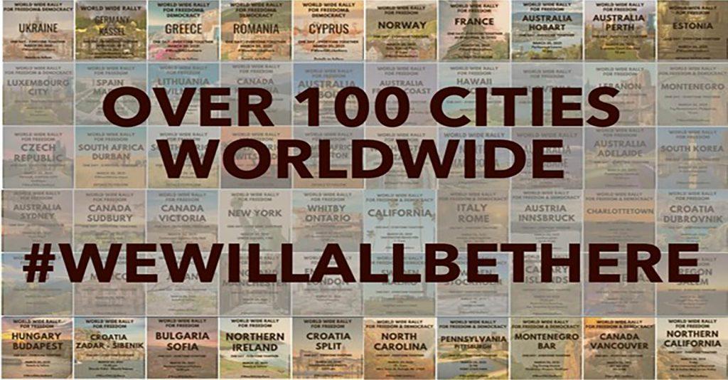 Worldwide Demonstration 2.0, May 15: Over 100 Cities Worldwide #WeWillAllBeThere