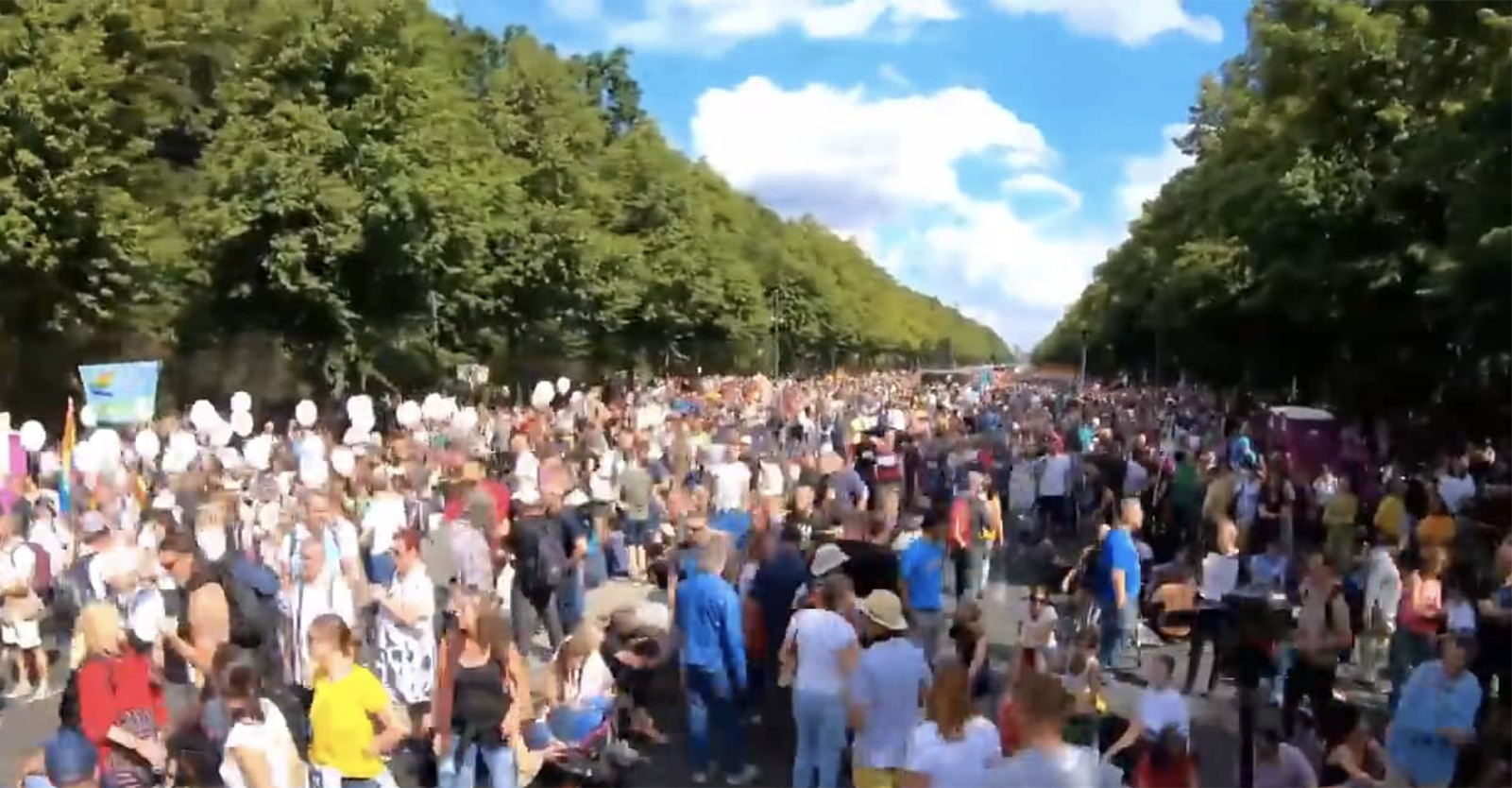 1.3 Millions People for Freedom In Berlin in August 29, 2020 (Germany)