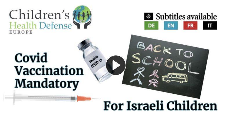 Mary Holland and Simon Yanowitz Discuss Vaccination In Israeli Schools