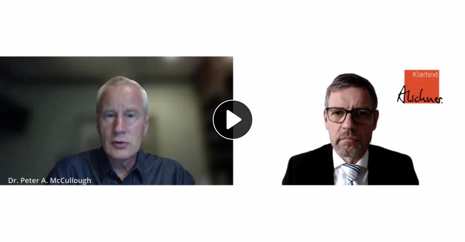 Behandlungsansätze gegen Covid-19 werden unterdrückt, sagt Dr. Peter McCullough