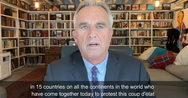 An International Message of Hope for Humanity From RFK, Jr.