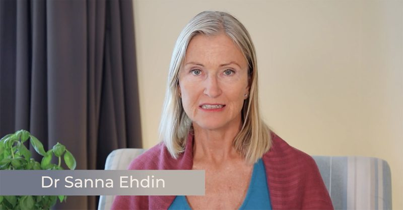 Message from Dr Sanna Ehdin (Sweden)