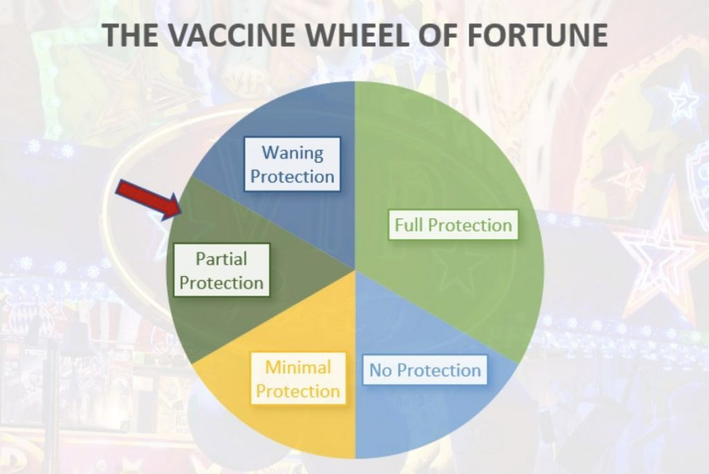The Vaccine Wheel of Fortune