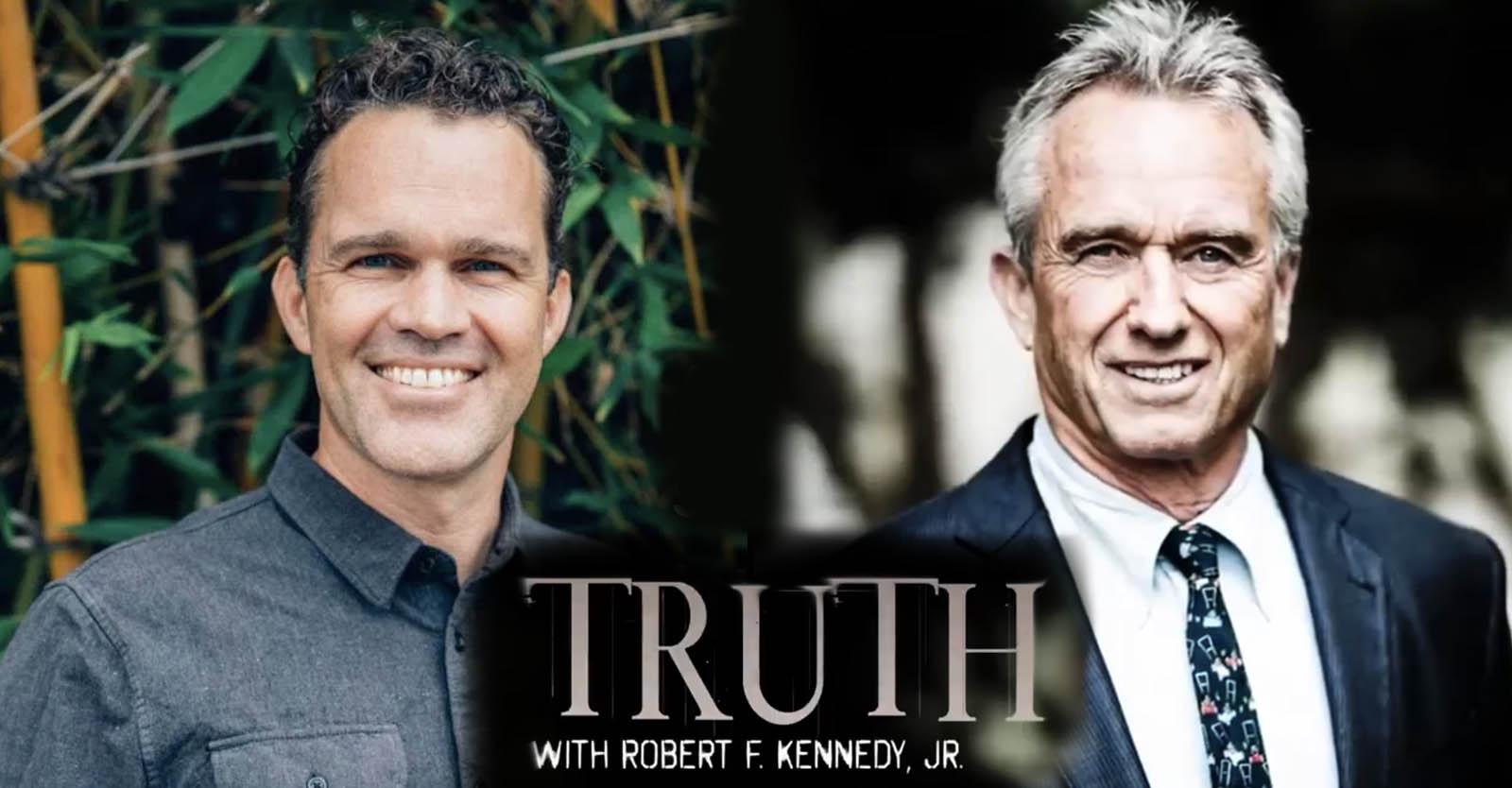 """Interview de Zach Bush par Robert F. Kennedy, Jr. (FRENCH): """"Nous devons nous éloigner du paradigme Santé Big Pharma"""""""